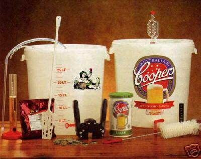 Kit birra Coopers